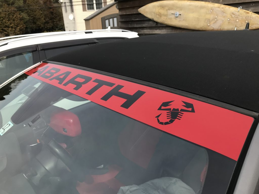 abarth500C Banner