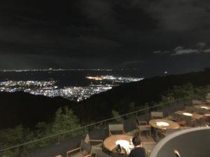 六甲山サイレンスリゾートのレストラン棟