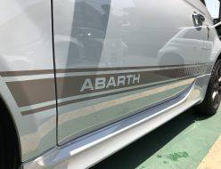 アバルト500、595用のサイドストライプです。
